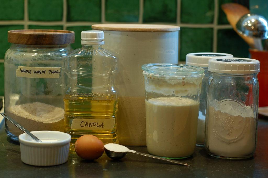 Quick bread ingredients