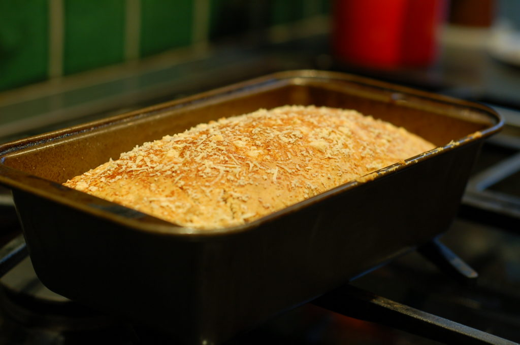 Quick bread pan cooling