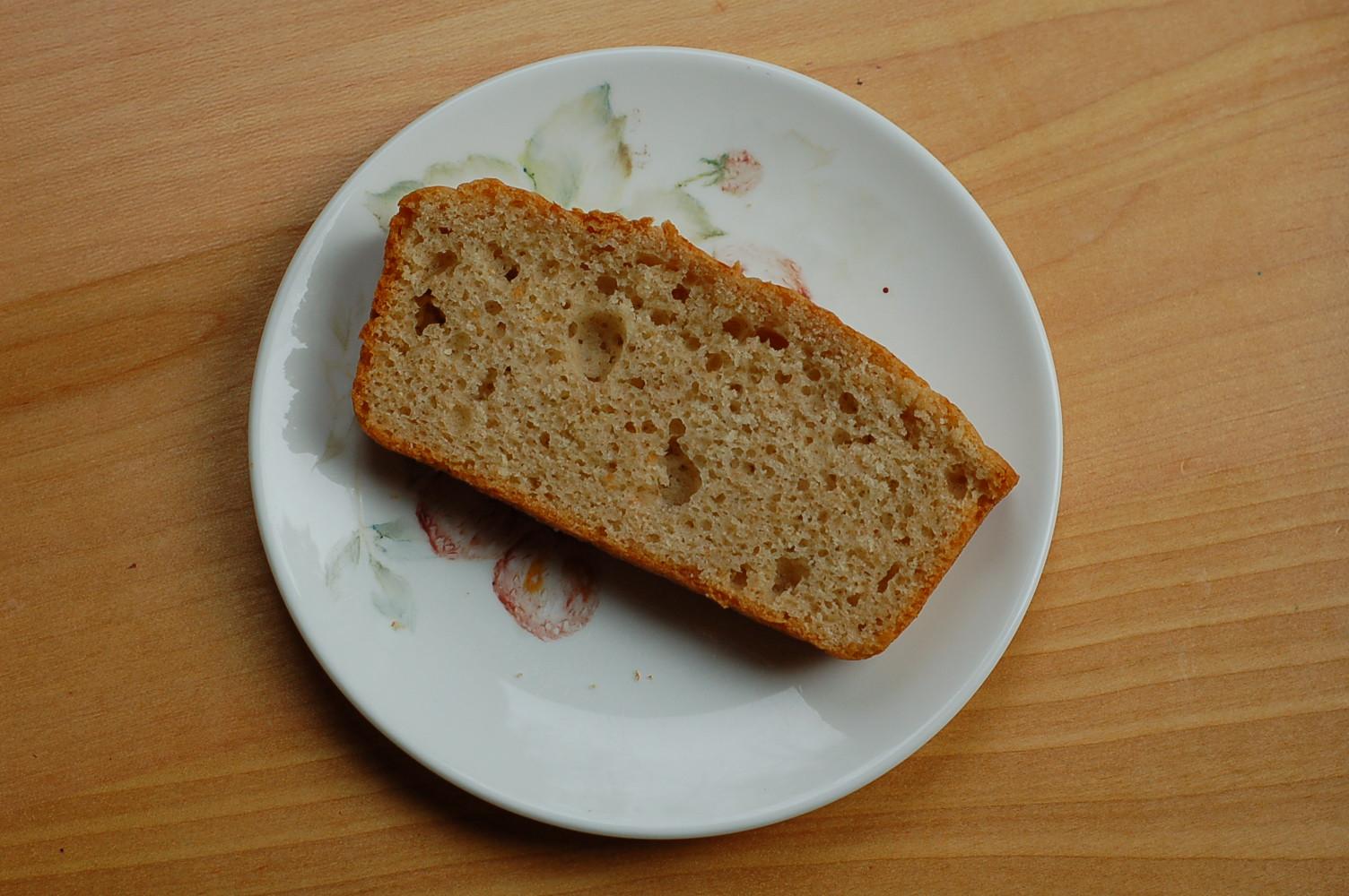 Using your starter: sourdough quick bread
