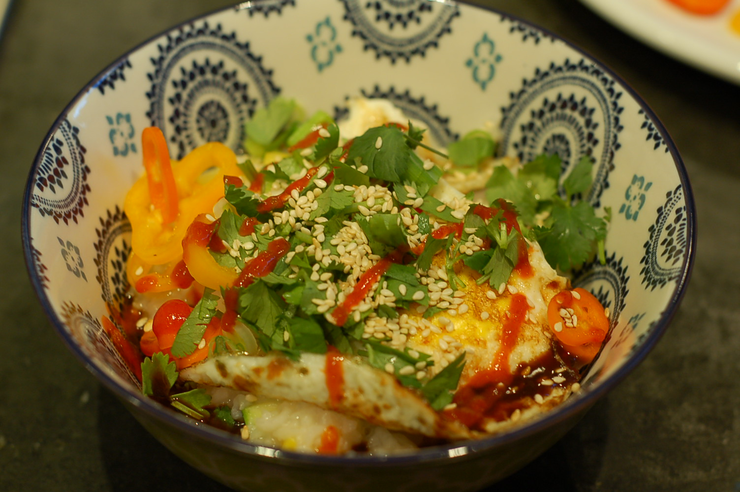 Instant Pot vegetarian congee: soupy rice that makes everything better