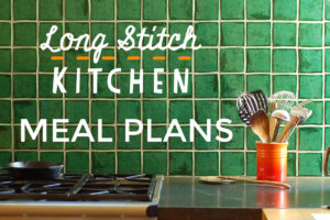 weekly family dinner meal plan