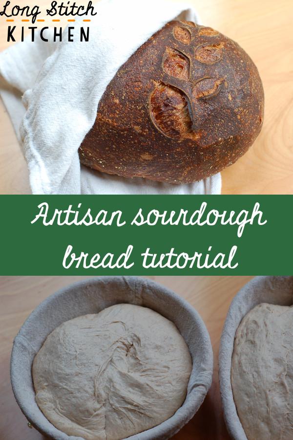 artisan sourdough bread tutorial pinterest