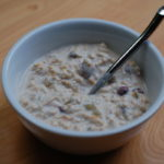Orange cardamom bircher muesli