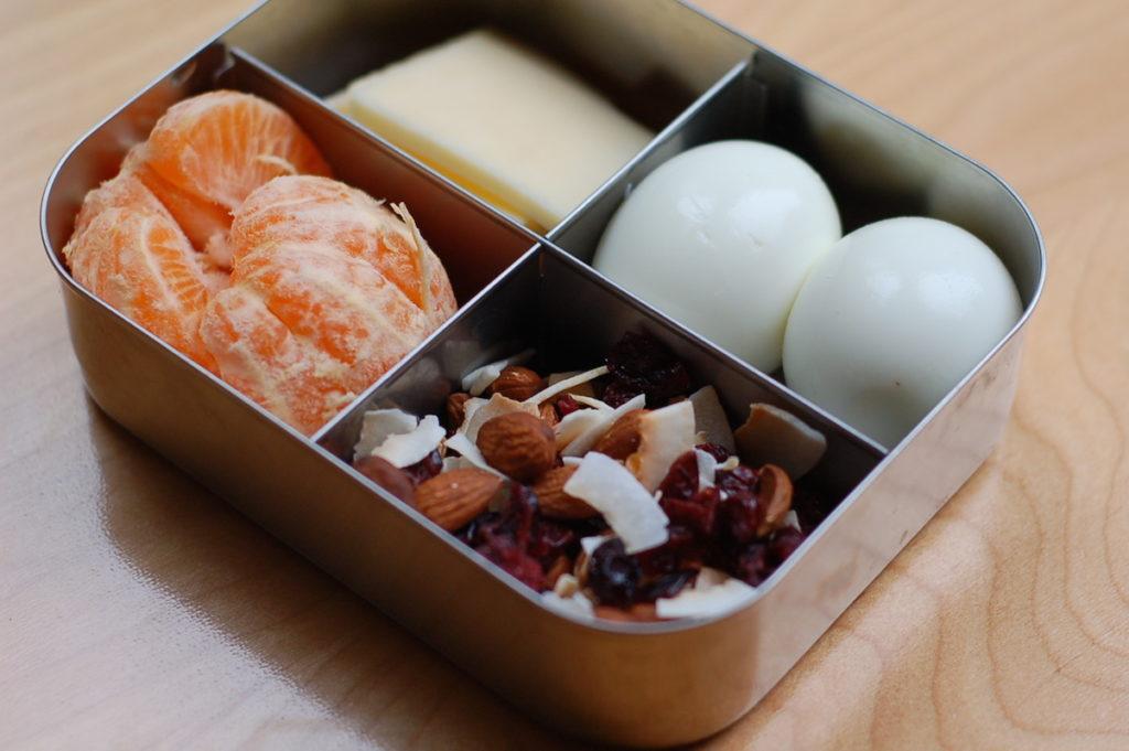 Park snack mix in snack box