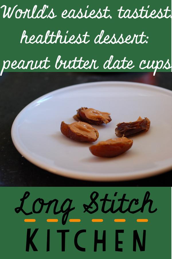 Peanut butter date cups pinterest
