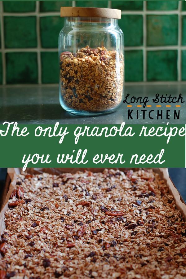 Raisin pecan granola pinterest