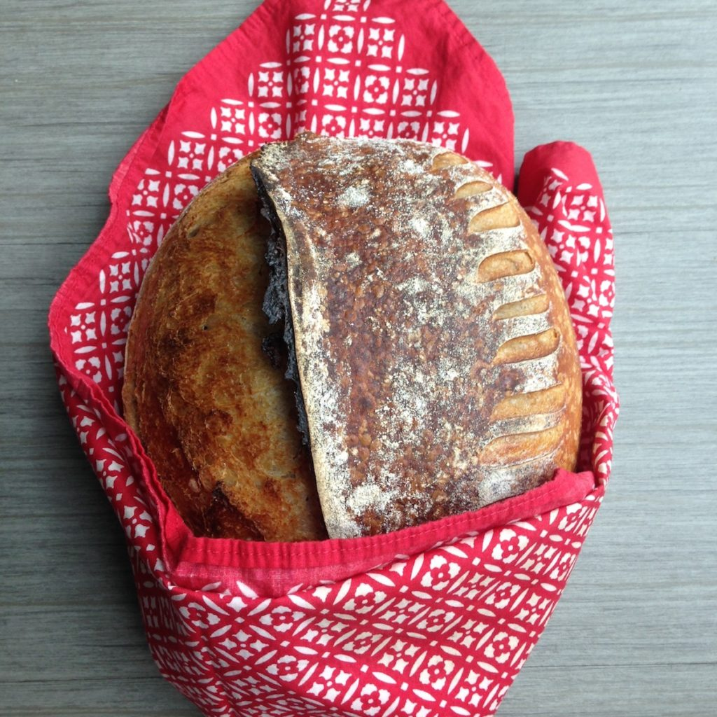 Beautiful sourdough bread