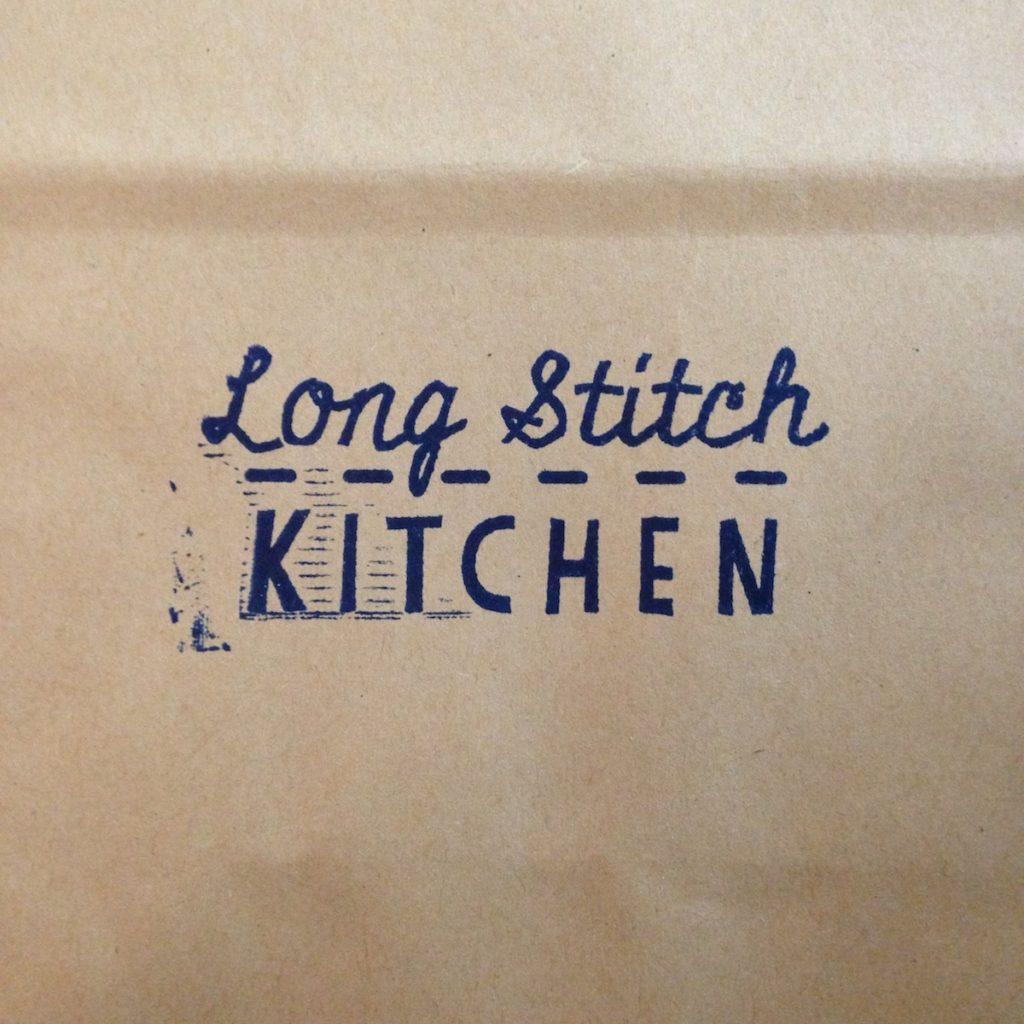 Long Stitch Kitchen stamp