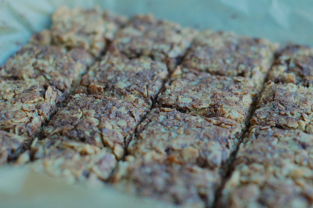 baked choc oat bars together 2