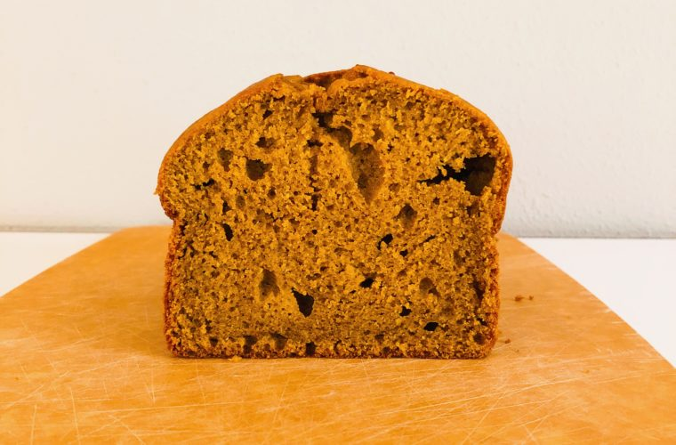 Pumpkin olive oil snacking bread
